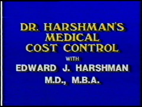 Dr. Harshman's Medical Cost Control Episode 2: Pre Estimate