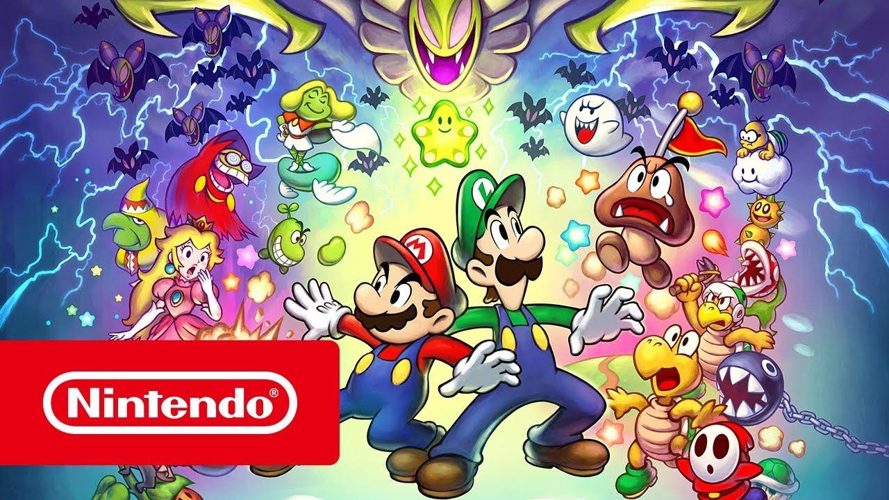 Mario Luigi Superstar Saga Bowser S Minions Launch Trailer
