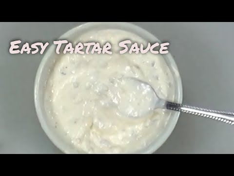 Easy Tartar Sauce Recipe