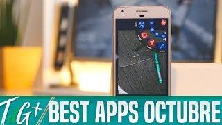 Top Aplicaciones Android   Octubre 2017