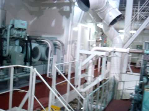 The Engine Room of M/T Yasa Seyhan