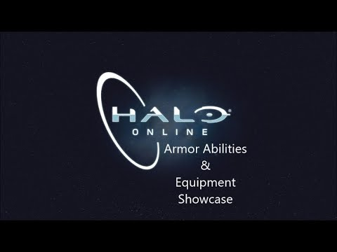 Halo: Online 0 6 - All Armor Abilities and Equipment