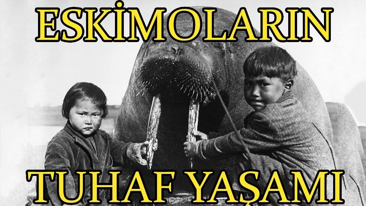 Eskimolar Nasıl Yaşar? Eskimo Belgeseli   Nanook of The North