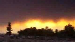 Silverado Fire in Orange County, California Oct 21, 2007