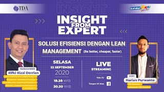 Solusi Efisien dengan Lean Management (Be better, Cheaper, Faster)