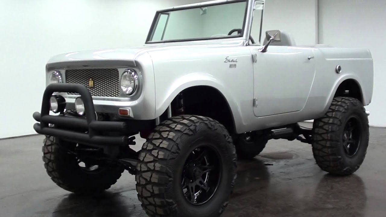 1965 International Scout 4x4 Full Custom - YouTube