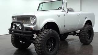 1965 International Scout 4x4 Full Custom