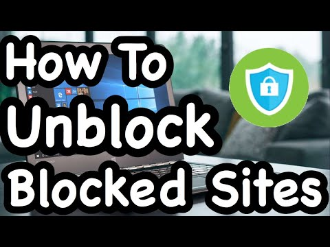 How To Unblock Blocked Sites - Windows