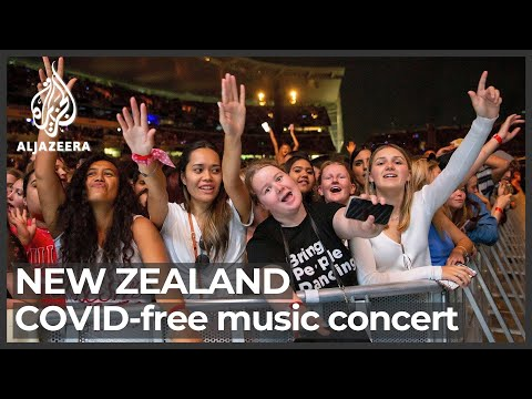 New Zealand band plays to 50,000 fans with no COVID measures