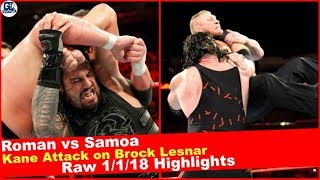 WWE Raw 01/01/2018 Highlights | Monday Night Raw January 1st, 2018 Highlights