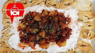 Siron tarifi / ziron / tepsi manti / patatesli manti / manti tarifi / Gülsümün sarayi