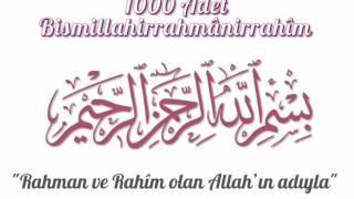 Hızlandırılmış 1000 Adet Bismillahirrahmanirrahim - Besmele