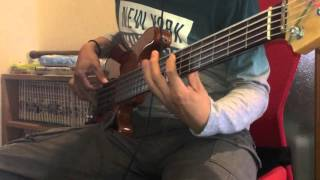 Jamiroquai Black Devil Car 【Bass cover】
