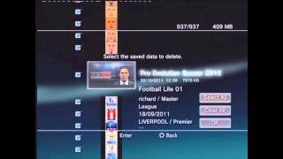 How to apply PES 2012 Patches From PC To PS3 HD Video