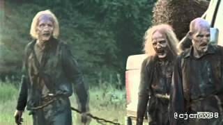 The Walking Dead Benny Hill style