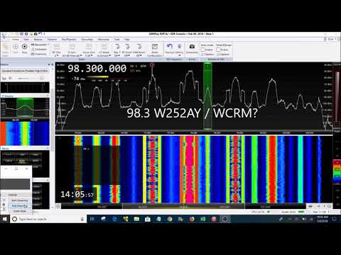Columbus Ohio FM Radio Bandscan
