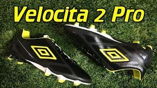 Umbro Velocita 2 Pro Black/Sulphur/White - Review + On Feet