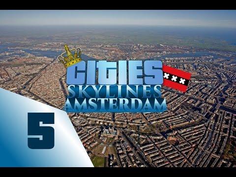 Cities: skylines Amsterdam Speedbuild - Ep5 Industry needed!