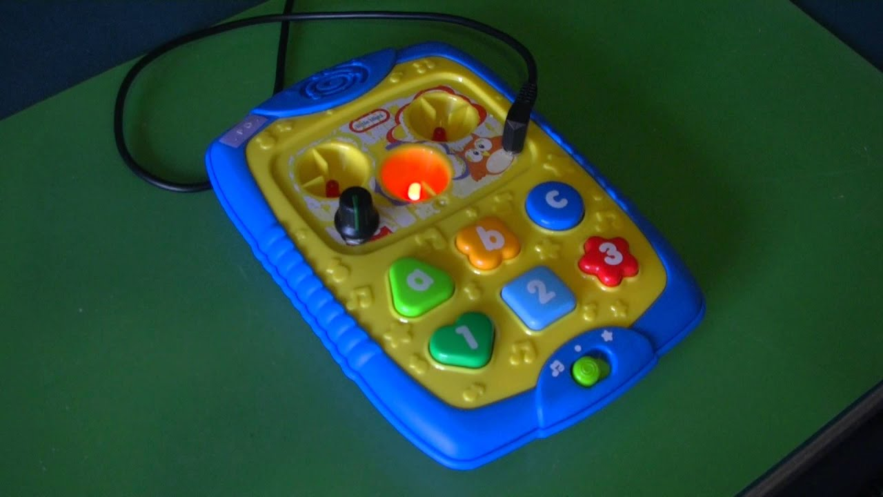 Circuit Bent Little Tikes Smart E Pad By Freeform Delusion Youtube Wrongbot Elmo39s World