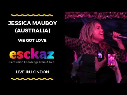 ESCKAZ in London: Jessica Mauboy (Australia) - We Got Love (at London Eurovision)