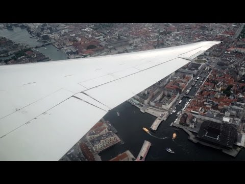 SPECTACULAR Low Flying DAT MD-87 [OY-JRU] over Copenhagen & Surrounding Area