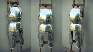 Как сделать нагрудник 16 века / How to make a 16 century style breastplate