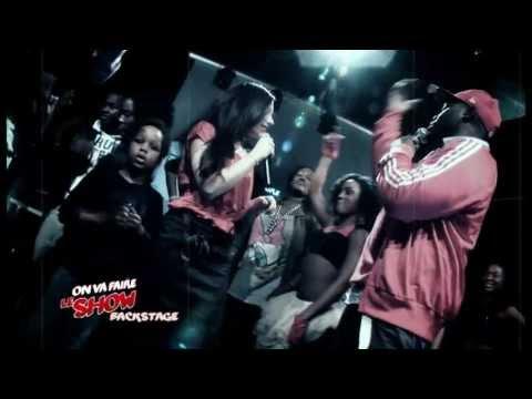 "Backstage""on va faire le show"" Jessy Matador  émission Tv n°1 culture Afro urbaine"
