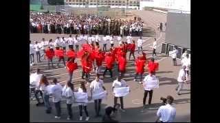 Церемония открытия торжественной линейки «Первокурсник БНТУ-2015»