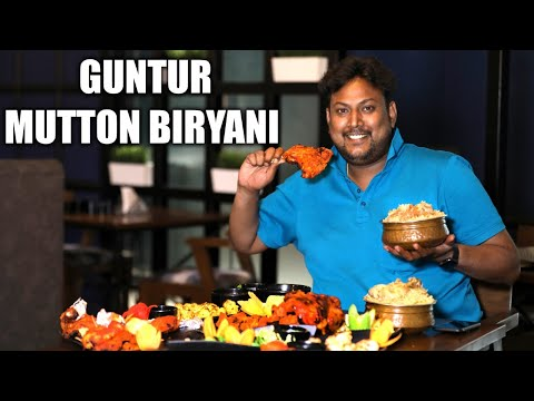 MUSLIM MUTTON BIRYANI at its Best in a New Look | Guntur Biryani | Bismillah Biryani