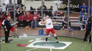 American Athletic Conference Indoor Shot Put 2014