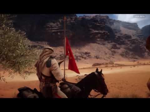 Battlefield 1 Osmanlı Türk Askeri Attında` ki Action