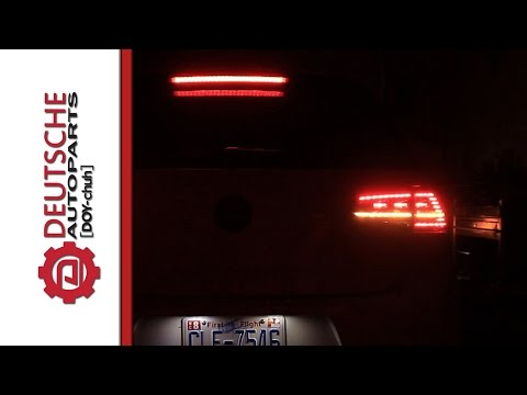 MK7 GTI European LED Taillights With Our Adapter Harness (Flash Free Operation)