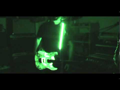 led lights in ibanez jem and led guitar strap by scott grove youtube. Black Bedroom Furniture Sets. Home Design Ideas