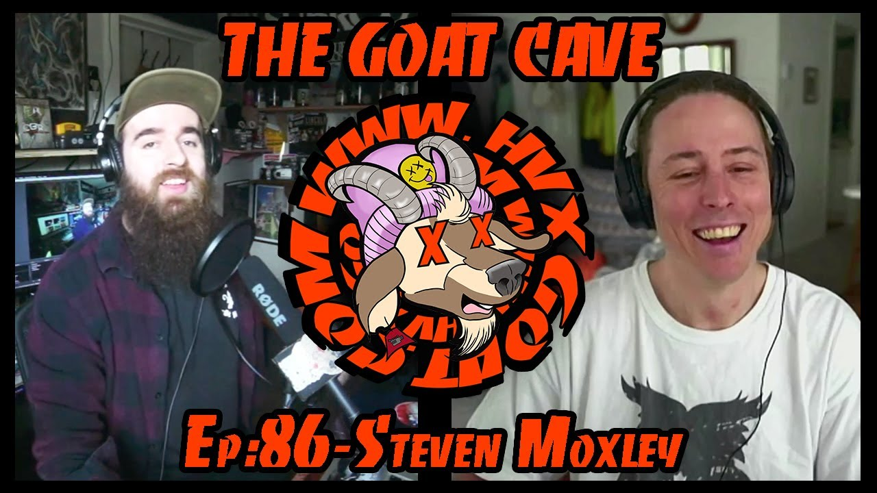 The Goat Cave Podcast (Ep:86- Steven Moxley)