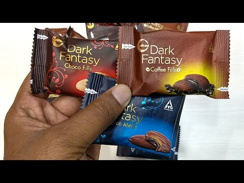 New Dark Fantasy Biscuits Pack Opening All 3 Flavors