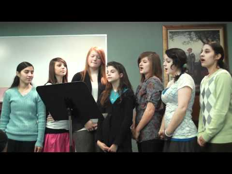 Bennetts Creek Young Women of The Church of Jesus Christ of LDS sing
