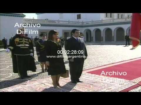 DiFilm - Cristina Fernandez de Kirchner con Zine El Abidine Ben Ali 2008