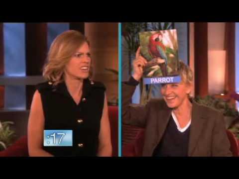 Hilary Swank's Interesting Animal Noises on Ellen