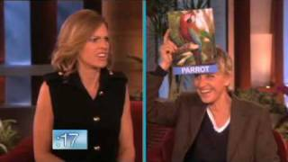 Hilary Swank's Interesting Animal Noises on Ellen