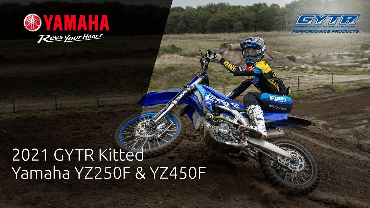 2021 GYTR Kitted Yamaha YZ250F & YZ450F