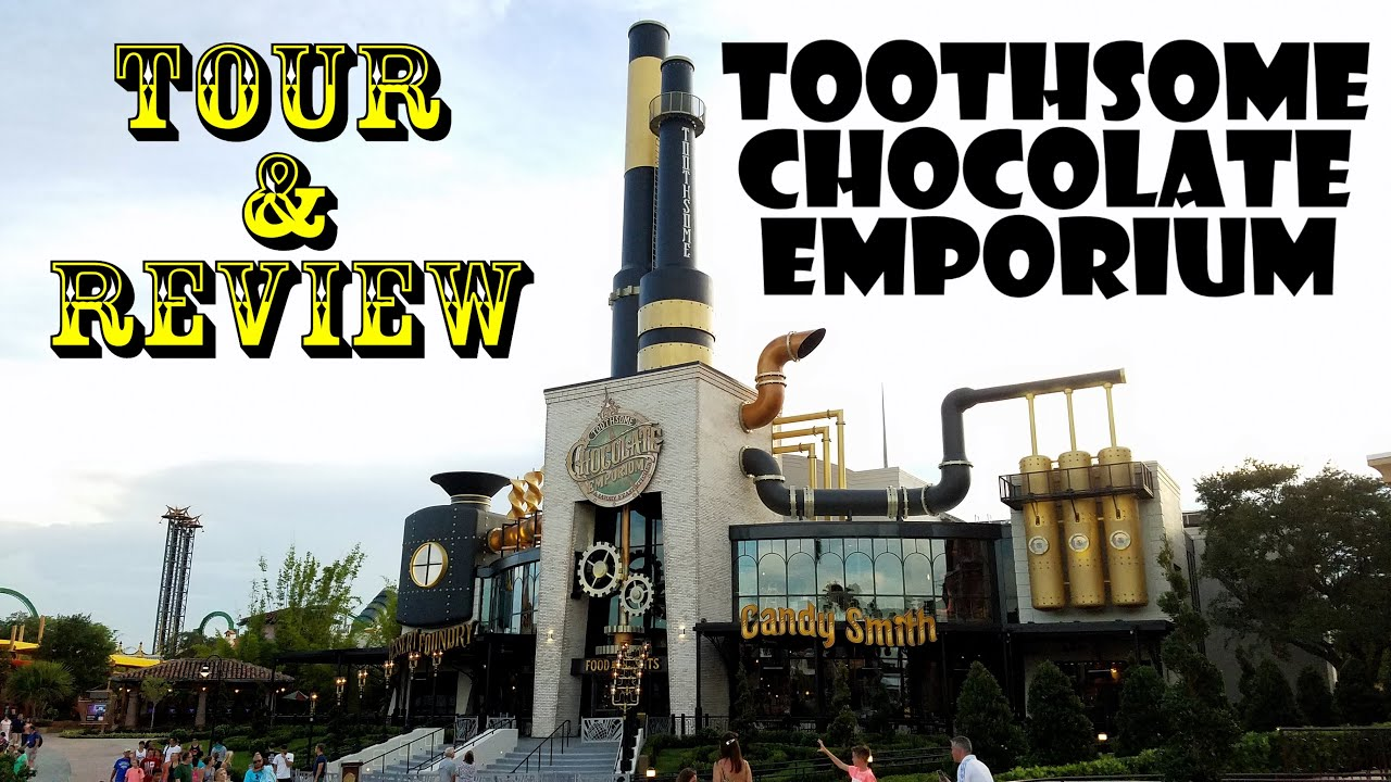 Toothsome Chocolate Emporium U0026 Savory Feast Kitchen COMPLETE Tour U0026 Review!    YouTube