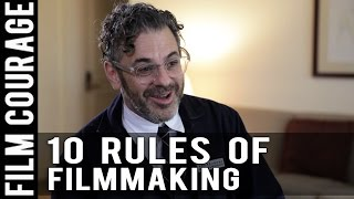 10 Rules Of Filmmaking by Tom Sachs of A SPACE PROGRAM