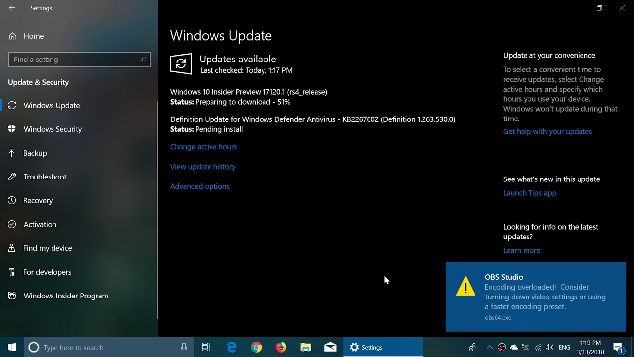 Windows 10 insider preview build 17120 released march 13th 2018 windows 10 insider preview build 17120 released march 13th 2018 ccuart Gallery