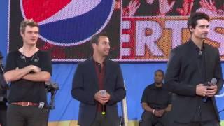 (Part 7/15) Backstreet Boys - Everybody soundcheck - Good Morning America (8/31/12)