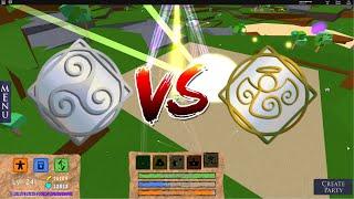 ESPRIT VS ANGE! Champs de bataille élémentaires de Roblox