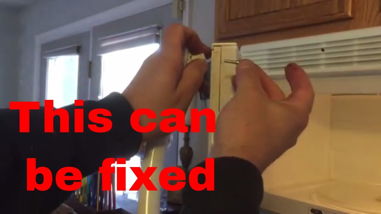 Microwave Repair Broken Door Handle Youtube