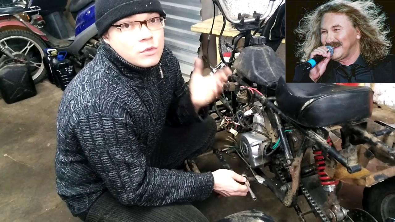 Детский квадроцикл. Проект Недетский квадроцикл. Двигатель. Часть 1.   Garage for boys
