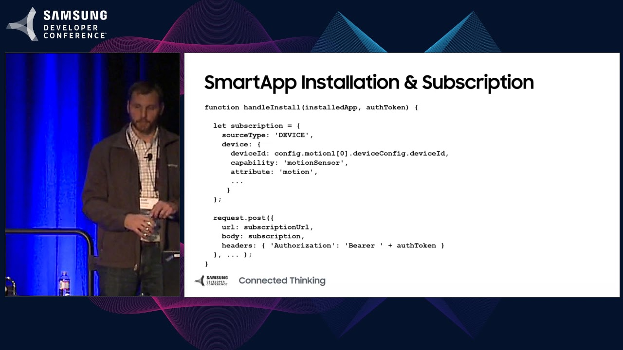 SDC 2017 Session: Automate Your World: Creating New Apps for the SmartThings Ecosystem