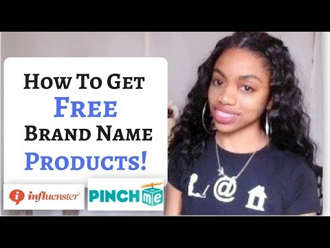 How I Get Brand Name PRODUCTS For FREE! Best Sites To Join!
