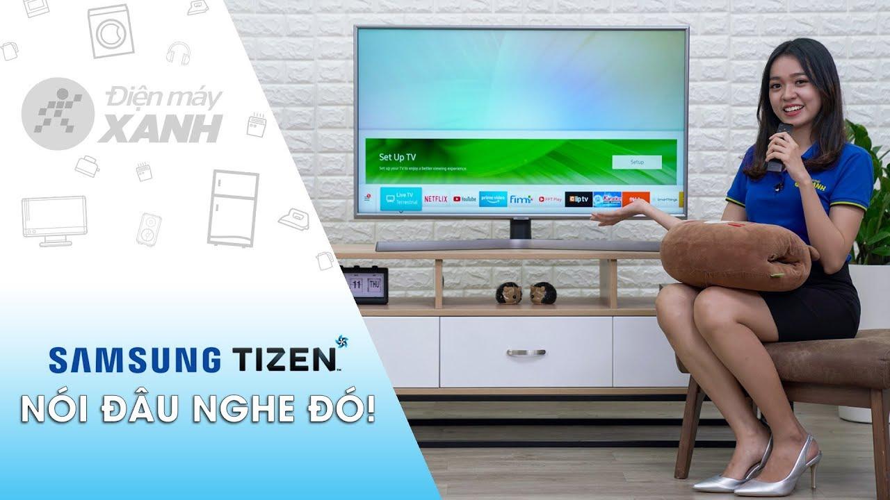 Cách điều khiển tivi Samsung bằng giọng nói • Điện máy XANH